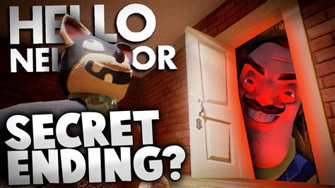 hello neighbor alpha 2 secret ending theory hello
