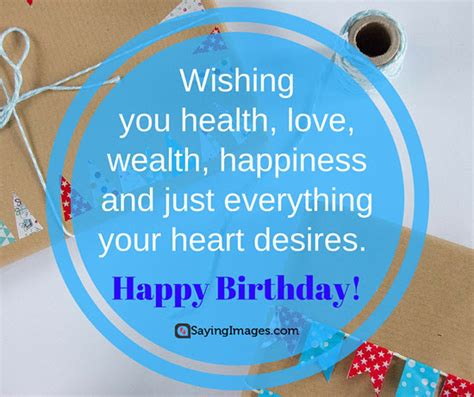 happy birthday quotes wishing  health love wealth