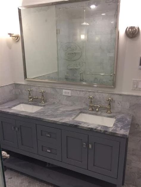 help with tight master bath 18 inch or 22 inch depth vanity