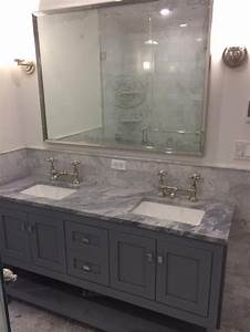 Help with tight master bath 18 inch or 22 inch depth vanity for How deep is a bathroom vanity