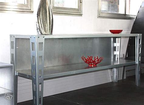 console pour cuisine console métal pour vaisselle meuble loft cuisine offre