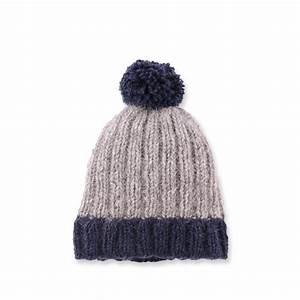 Faire Un Pompon Avec De La Laine : comment tricoter bonnet en laine pompon ~ Zukunftsfamilie.com Idées de Décoration
