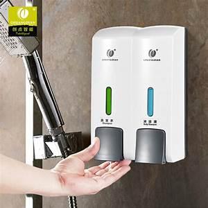 Manual Double Heads Ntoilet Shower Room Wall Mount Pump