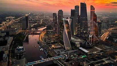 Cityscape Moscow Wqhd Redd