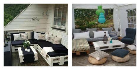 plan canapé en palette 50 idées originales pour fabriquer votre salon de jardin
