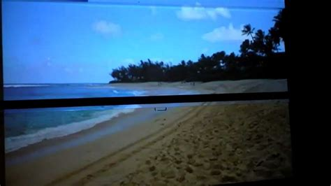 whats picture differences projector screen  white wall