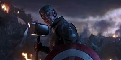 Captain America Endgame Mjolnir Shield Avengers Hammer