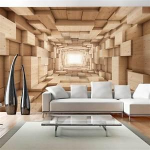 tapeten ideen fur eine ausgefallene wandgestaltung With balkon teppich mit wohnzimmer 3d tapeten