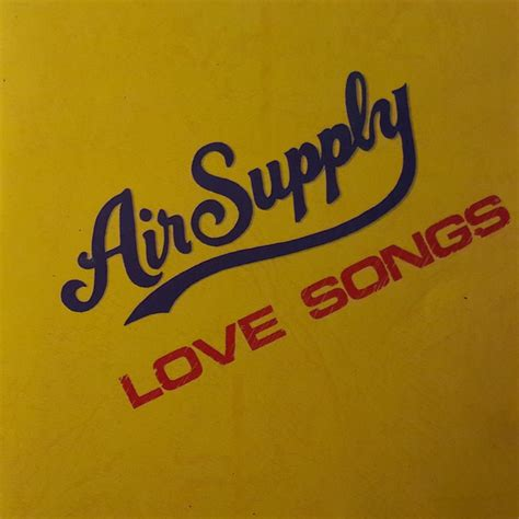 air supply love songs cd compilation unofficial