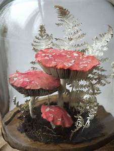 kate kato creates lifelike fly agaric sculptures from