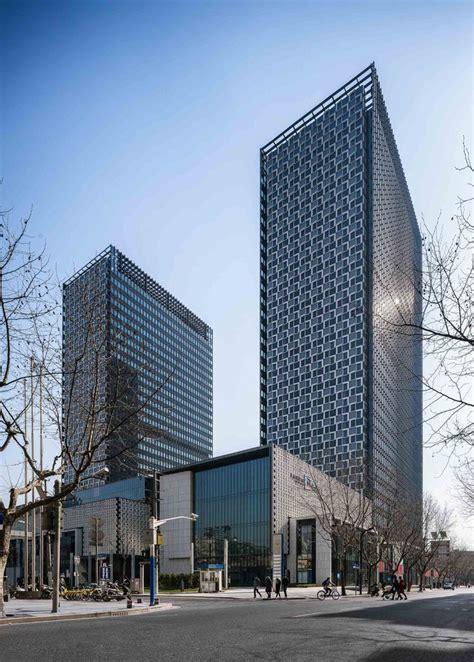 shanghai landmark center  aedas archiscene