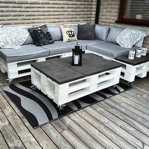 Couch Aus Paletten : sofa und tisch aus paletten und fliesen ideen rund ums haus pinterest instagram tisch aus ~ Whattoseeinmadrid.com Haus und Dekorationen