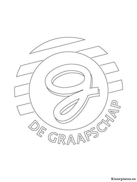 Kleurplaat Logo by Voetbalclub Nederland Logo Kleurplaat 7380 Kleurplaat