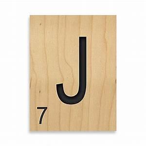 game tile letter quotjquot wall art wwwbedbathandbeyondcom With letter j wall art