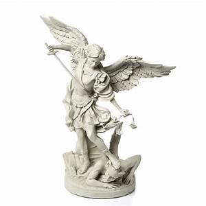 Design Toscano St. Michael the Archangel Gallery Statue ...