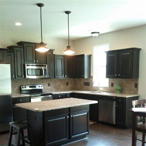 kitchens with black floors 31 best cabinets w light or floor images on 6604