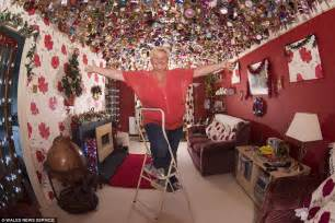 worried about putting up your decorations then spare a thought for this grandmother who began
