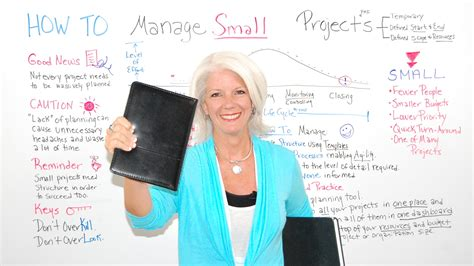 manage small projects projectmanagercom