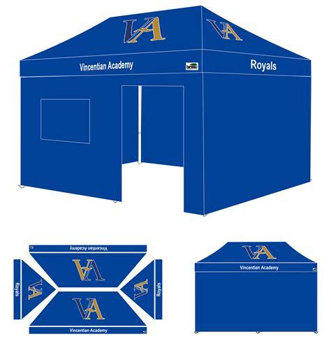 custom pop  canopy   wall va