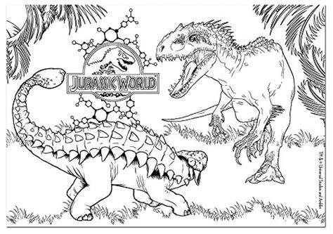 disegni da colorare jurassic world