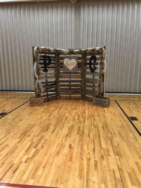 Jenkins Wedding Pallet Backdrop Wedding Ideas
