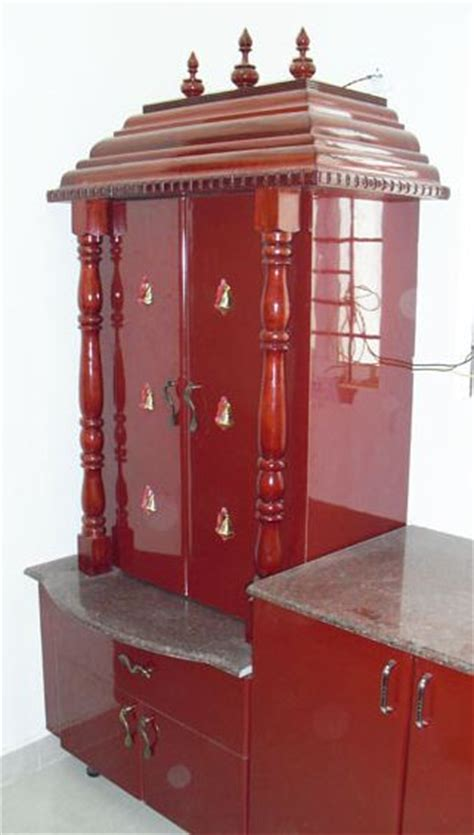 pooja room in kitchen designs these modern pooja room designs will fill your house with 7522