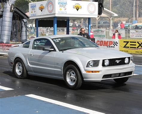 2005 Mustang Gt 0 60 by 2005 Ford Mustang Gt Powerhouse Turbo 1 4 Mile Drag Racing