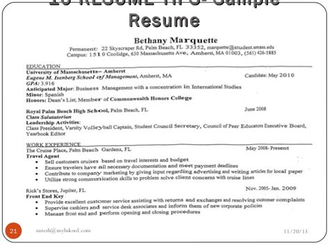 different parts of resume and its significance mybskool live class why analysis of a resume is important