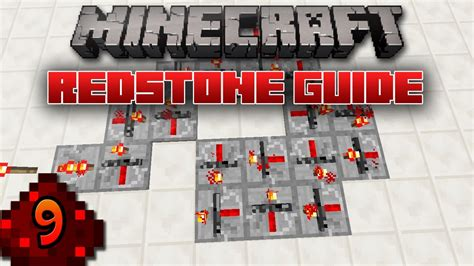 Minecraft Redstone Guide Repeater Locking Youtube