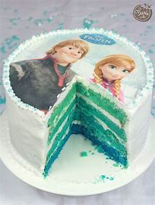 Gâteau Reine Des Neiges : d grad g teau reine des neiges fete reine des neiges ~ Farleysfitness.com Idées de Décoration