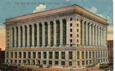 Chicago City Hall-1915
