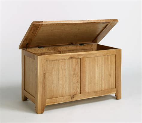 custom diy blanket storage box as bench seat using oak