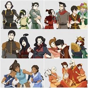 Image Gallery legend of korra characters