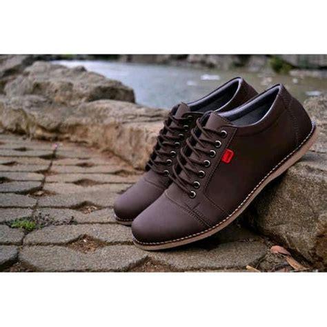 jual kickers shaka brown casual sepatu kerja pria sepatu kantor murah sepatu casual pria