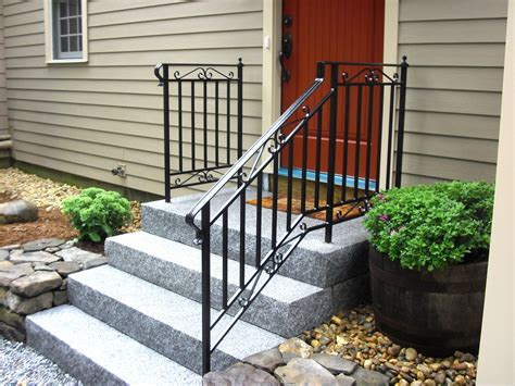 wrought iron handrail iron steel project showcase mill city iron 1193
