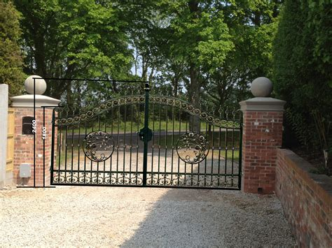 electric driveway gates for sale ready made gates ready made metal gates