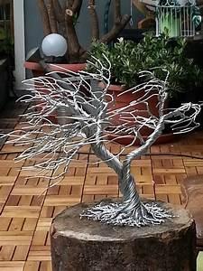 Mit Draht Basteln : drahtbaum basteln mit aludraht pinterest draht baum und aludraht ~ Watch28wear.com Haus und Dekorationen