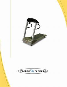 Vision Fitness T9500hrt Manual