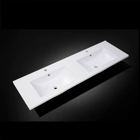 sink vanity top only vanity top only quadro polymarble 1500 bowl the
