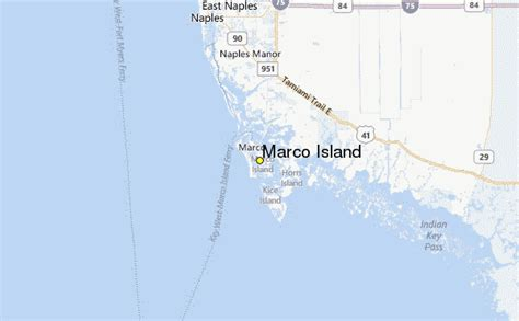 Marco Island Weather Station Record