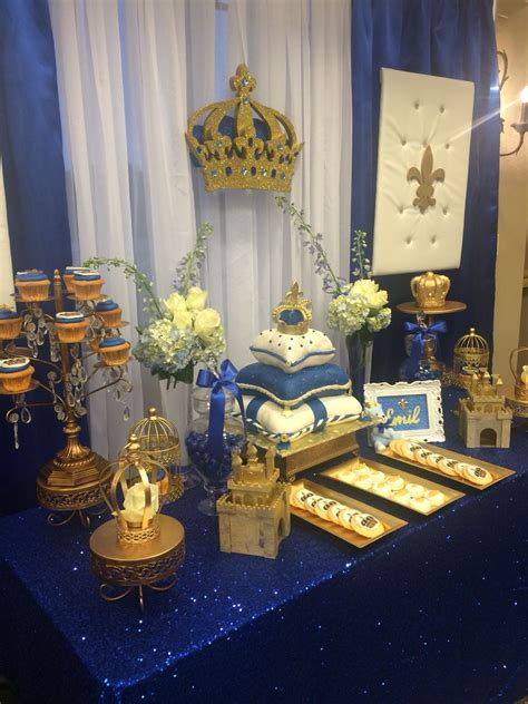 A New Prince Baby Shower Theme by Beautiful Royal Prince Baby Shower Festejos Party