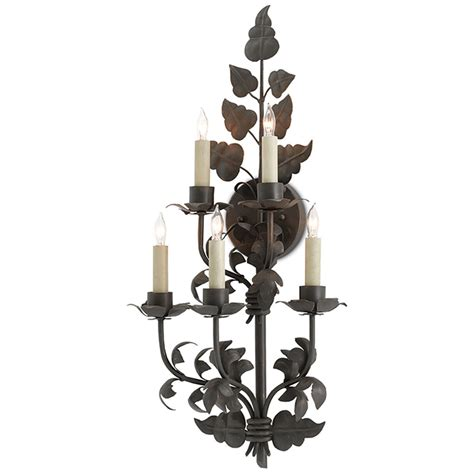 Currey & Company Lighting Willow Wall Sconce 50000066
