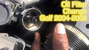 2006 Audi A3 Oil Filter Change