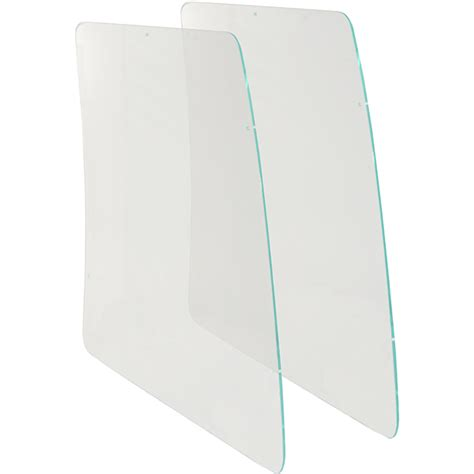 Plastic Boat Windshield Replacement by 243cc And 223cc Everglades Acrylic Side Windshields Old