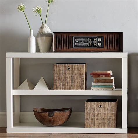 Low Modern Bookcase by Parsons Low Bookshelf Modern Bookcases By West Elm