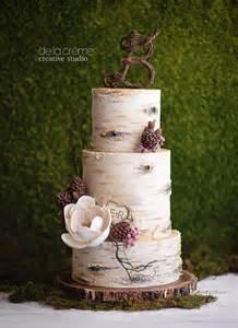 owl wedding cake topper birch tree wedding cake de la crème creative studio