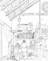 Drawing Desk Getdrawings sketch template