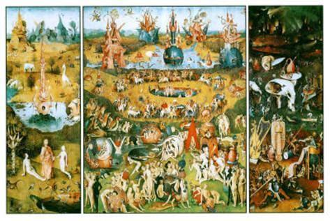 garden of earthly delights hieronymus bosch garden of earthly delights poster