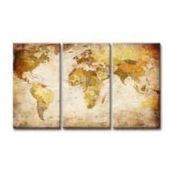Changer Le Mappemonde by Tableau Moderne Imprim 233 160x90 Cm Carte Monde Achat