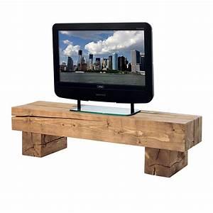 Meuble En Pin Massif Scandinave : meuble tv poutre en pin massif aux lignes pur es ~ Melissatoandfro.com Idées de Décoration